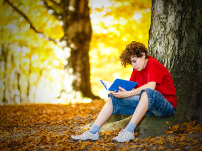 Christian Books for Tweens & Teens boy reading